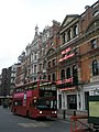 Bus outside The Royal Court, Sloane Square - geograph.org.uk - 1089253.jpg