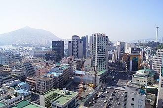 Jung District, Busan - Image: Busan Cityscape 1