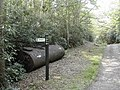 Byway to the left ... tanks to the right - geograph.org.uk - 417304.jpg