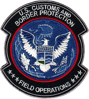 CBP Office of Field Operations - CBP - Office of Field Operations Shoulder Patch