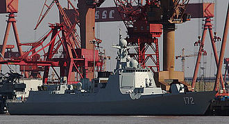 Guided missile destroyer - Kunming (D172), a Chinese Type 052D destroyer