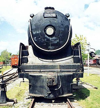 "4-4-4 - Canadian Pacific Railway class F1a ""Jubilee"" No. 2928"