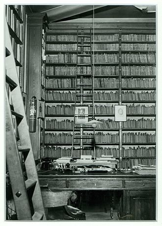 Royal Conservatory of Brussels - Library of the Royal Conservatory of Brussels, ca. 1960 (B-BC, ICO-98022-3)