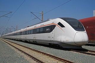 China Railway CRH6 high speed train