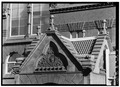 CROSS GABLES OF ENTRANCE - University of Pennsylvania, Furness Building, Philadelphia, Philadelphia County, PA HABS PA,51-PHILA,566D-3.tif