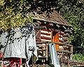 Cabin in Woods, Riley's Farm, Oak Glen, CA 11-15a (22302311584).jpg
