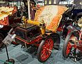 Cadillac rear entrance touring automobile, 1904, made by Cadillac Motor Car Co., Detroit, 7-10 HP, 1 cylinder, gasoline engine - Luray Caverns Car and Carriage Museum - Luray, Virginia - DSC01213.jpg