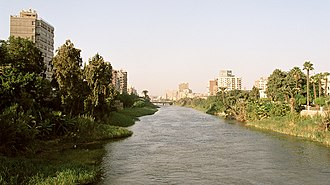 Rhoda Island - Nile branch between Rhoda Island and Old Cairo.