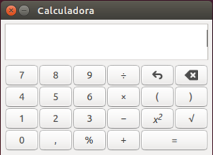 Calculadora do Ubuntu