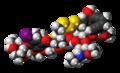 Calicheamicin gamma 1 3D spacefill.png
