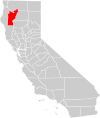 California county map (Trinity County highlighted).svg