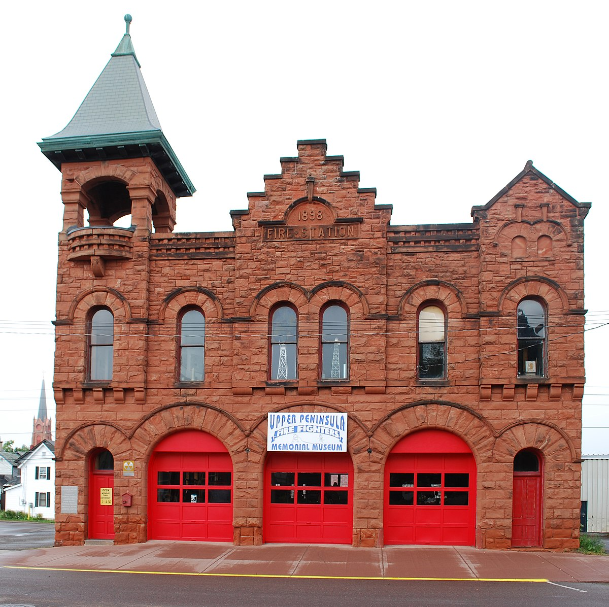 Calumet fire station wikipedia for Building a house in michigan