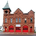 Calumet Fire Station Calumet MI 2009.jpg