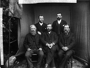 Calvinistic Methodist elders, Llanfair Caereinion