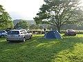 Camping at Cae Du campsite - geograph.org.uk - 697382.jpg