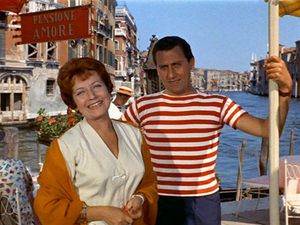 Anna Campori - Campori and Alberto Sordi in Venice, the Moon and You