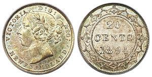 Newfoundland twenty cents