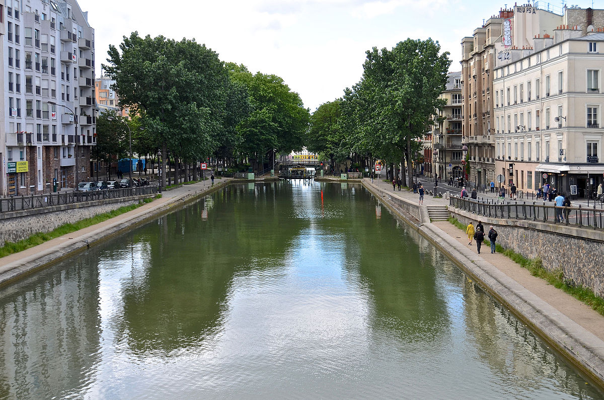 canal saint martin wikidata. Black Bedroom Furniture Sets. Home Design Ideas