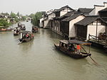Historic riverside towns south of the Yangtze River