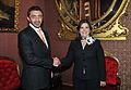 Canciller Eda Rivas se reunió con su homólogo de Emiratos Árabes Unidos (14096083673).jpg