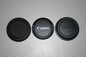 Lens cover - Canon lens covers.