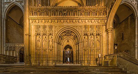 Quire screen Canterbury Cathedral Rood Screen, Kent, UK - Diliff.jpg