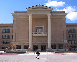 West Texas A&M University - Image: Canyon Texas WTAMU Old Main Building