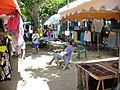 Cap Corse - Macinaggio - thursday market on the main square - panoramio.jpg