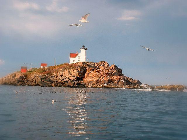 Cape Neddick Light from the Sea