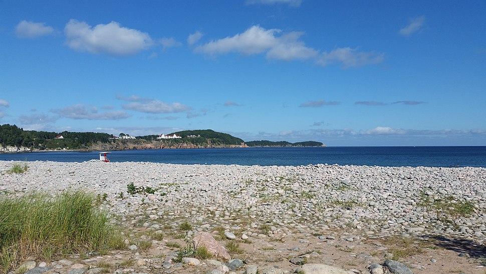 Cape Breton HIghlands National Park Freshwater Lake barrier beach