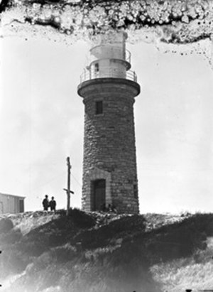 Dirk Hartog Island - Cape Inscription lighthouse, c. 1910