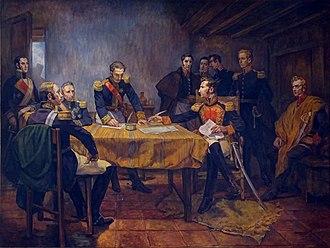 Antonio José de Sucre - Surrender at Ayacucho (Daniel Hernández).