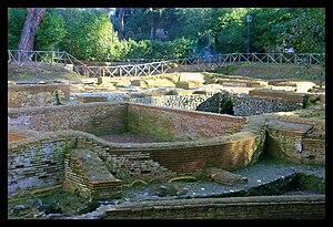 Capo di Bove - The excavations at Capo di Bove.
