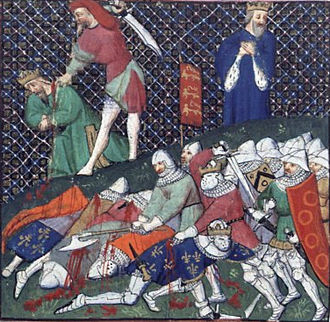 France in the Middle Ages - The capture of the French king John II at Poitiers in 1356