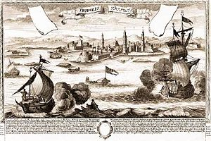 Siege of Tripoli (1551) - Image: Capture of Tripoli by the Ottomans 1551
