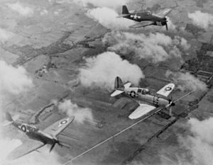 Captured J2M with F6F and Seafire 1945.jpg
