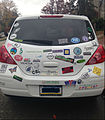 Car with Many Bumper Stickers.jpg