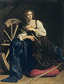 Caravaggio - Saint Catherine of Alexandria - Google Art Project.jpg