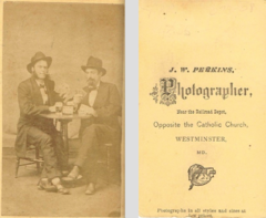 Cardplayers by J W Perkins of Westminster Maryland.png
