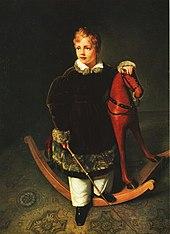 Carl Christian Vogel von Vogelstein – Knabenbildnis Herzog Alberts von Sachsen (1833) (Quelle: Wikimedia)
