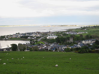 Carlingford, County Louth - Carlingford Town from above