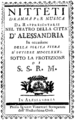 Carlo Monza - Nitteti - titlepage of the libretto - Alessandria 1781.png