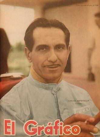 Carlos Menditeguy - Image: Carlos Menditeguy El Gráfico 1805
