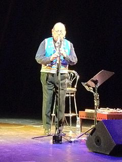 R. Carlos Nakai American flutist