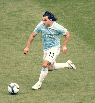 Carlos Tevez - Tevez joined Manchester United's cross-town rivals, Manchester City, after his contract with United ran out in July 2009