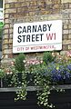 Carnaby Street sign with flowers.jpg