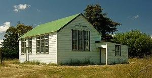 Himatangi - Carnarvon Hall, SH1 north of Himitangi Crossroads