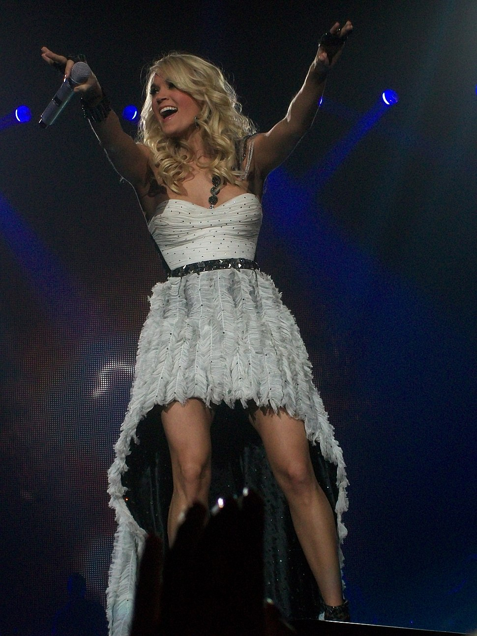 """Carrie Underwood on her """"Blown Away Tour"""""""
