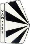 Carrier Airborne Early Warning Squadron 121 (US Navy) insignia 1988.png