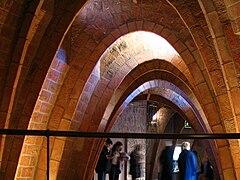 Casa Mila interior arches